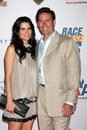 Angie Harmon,Jason Sehorn Royalty Free Stock Images
