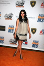 Angie harmon the rock arriving at to erase ms gala at century plaza hotel in century ciy ca on may Stock Images