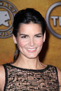 Angie harmon at the th annual screen actors guild awards nominations announcement pacific design center los angeles ca Royalty Free Stock Image