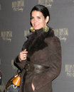 Angie harmon wilshire theater sundays la play opening los angeles ca january Stock Image