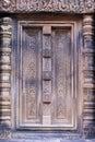 Angkor banteay柬埔寨srei 免版税库存图片