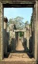ναός angkor bayon wat Στοκ Εικόνες