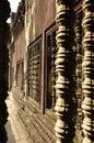 Angkor, Cambodia. Khmer Angkor Wat temple Royalty Free Stock Photo