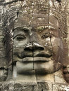 Angkor face Royalty Free Stock Photo