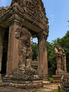 Angkor - Preah Khan temple Stock Photography