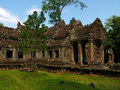 Angkor - Preah Khan temple Royalty Free Stock Images