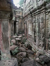Angkor - Preah Khan temple Royalty Free Stock Photo