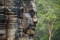 Angkor Thom Face