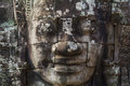 Angkor Thom Face Royalty Free Stock Photo
