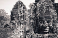 Angkor Wat au Cambodge Photo stock