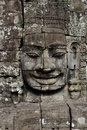 Angkor Wat - Bayon temple Royalty Free Stock Photo