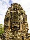 Angkor wat cambodia smile siem riep Royalty Free Stock Image