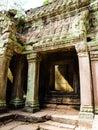 Angkor wat cambodia smile siem riep Stock Image