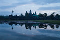 Angkor Wat at Dawn. Cambodia Royalty Free Stock Photo