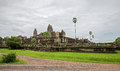 Angkor Wat rear entry Stock Photos
