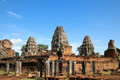 Angkor wat temple complex in cambodia Stock Photo