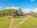 Angkor wat temple siem reap cambodia Stock Photo