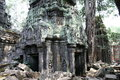 Angkor watt complex temple in cambodia Royalty Free Stock Image