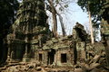 Angkor watt complex temple in cambodia Stock Photo