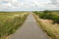 Anglesey自行车赛车道 免版税库存图片