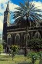Anglican Cathedral, Christ Church, Stone Town, Zanzibar, Tanzania Royalty Free Stock Photo
