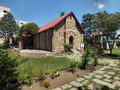 Anglican church of st john like most the remaining colonial buildings in maseru the capital lesotho s is a sandstone building with Royalty Free Stock Photo