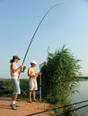 Angling Stock Photography