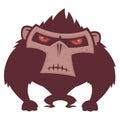 Angry Ape Stock Image