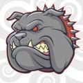 Angry Bulldog Vector