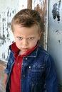 Angry eyes Royalty Free Stock Photo