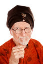 Angry New Age Man Royalty Free Stock Images
