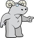 Angry Ram Royalty Free Stock Image