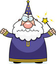 Angry Wizard Stock Photo