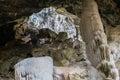 Angthong cave at the island thailand Royalty Free Stock Image