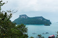 Angthong islands landscape of of thailand Royalty Free Stock Image