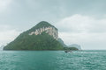 Angthong islands rainly landscape of of thailand Stock Photography