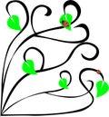 Angular pattern vector illustration ornament Stock Photo