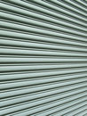 Angular view of garage door Stock Photos
