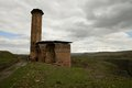Ani armenian ruins ruined manucehr mosque in the ancient city of turkey Royalty Free Stock Photos