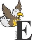 Animal Alphabet Eagle