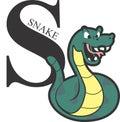 Animal Alphabet Green Snake