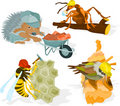 Animal builders 02 Stock Images
