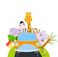 Animal And Car