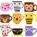 Animal Coffee Mugs / Cups
