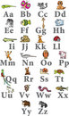Animal d'alphabet Images libres de droits