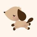 Animal Dog Flat Icon Elements,...