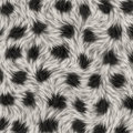 Animal fur white and black texture Stock Photo