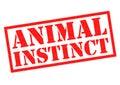 ANIMAL INSTINCT Rubber Stamp