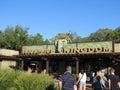 Animal kingdom park entrace disney world febrary Royalty Free Stock Image