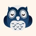 Animal Owl Flat Icon Elements,...